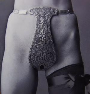 Une ceinture de chasteté symbolisant le caractère non sexuel de votre domina qui se refuse à toute pénétration de son intimité